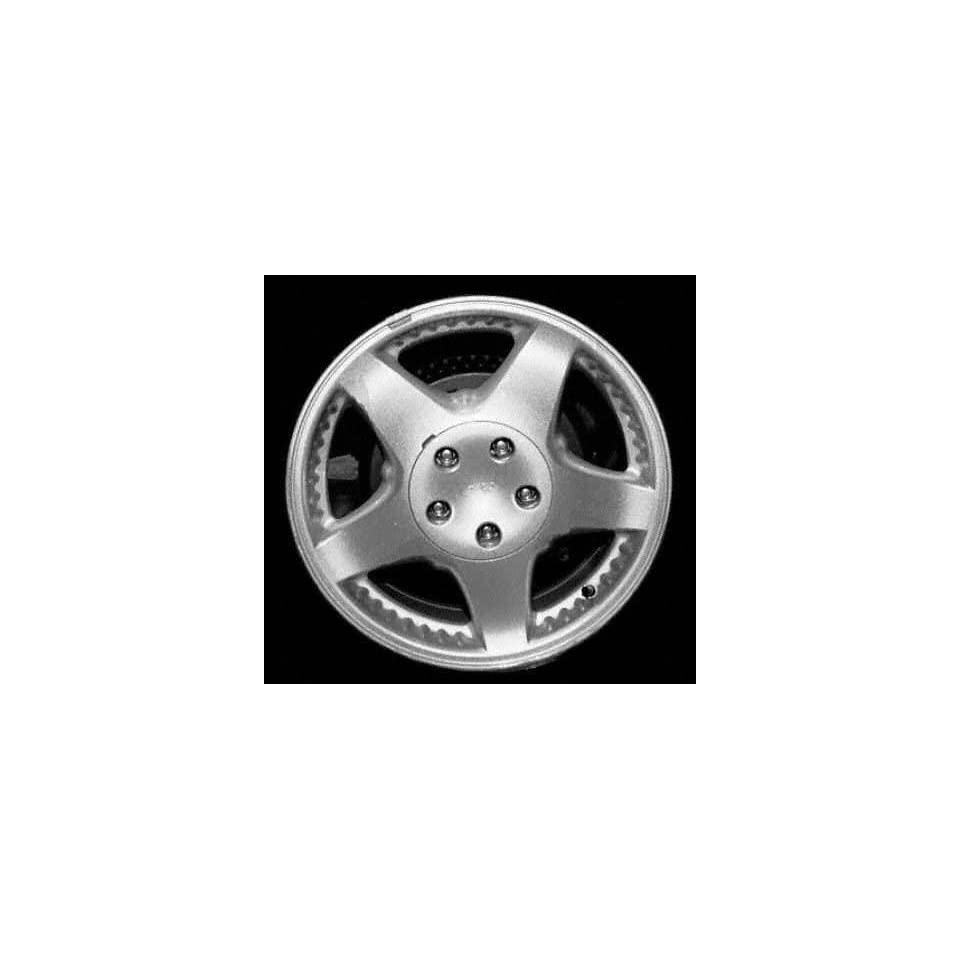 99 03 FORD WINDSTAR ALLOY WHEEL RIM 16 INCH VAN, Diameter 16, Width 6.5 (5 SPOKE), BRIGHT SILVER PAINT, 1 Piece Only, Remanufactured (1999 99 2000 00 2001 01 2002 02 2003 03) ALY03324U20