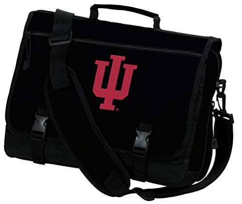 Broad Bay Indiana University Laptop Bag IU Computer Bag or Messenger Bag by Broad Bay