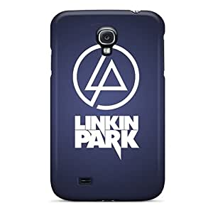 Anti-Scratch Hard Phone Cover For Samsung Galaxy S4 With Customized Stylish Linkin Park Pattern DeanHubley