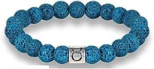 Taurus Zodiac Signs Beads Bracelets Colorful Lava Stone Beads Bracelet