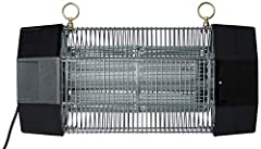 Industrial size electronic flying insect killer, also recommended for outdoor residential areas. Glow-tube, glo-panel reflector for maximum catch and increased attractiveness to insects. Equipped with UltraViolet (UV) Lights as an an attracta...