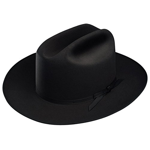 - Stetson Open Road Fur Felt Hat (7, Black)