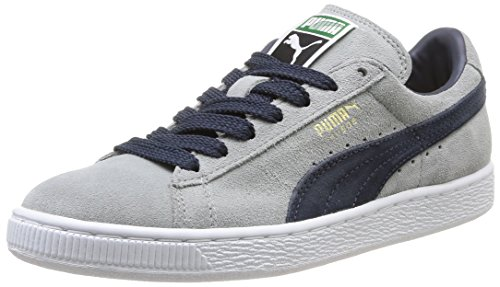 Suede gold Classic Basses Mixte navy Puma Gris white limestone Adulte Baskets FSd6xHwq