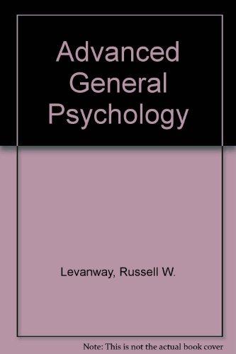 Advanced General Psychology