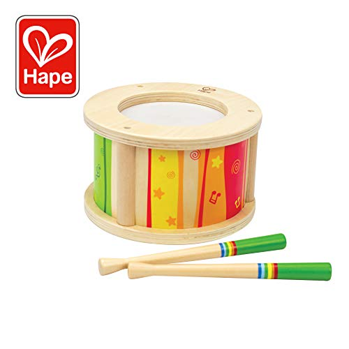 Hape Little Drummer Kid's Wooden Drum Music Set ()