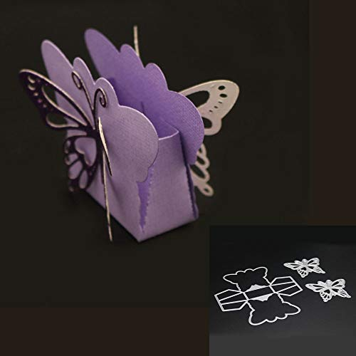 POQOQ Cutting Dies Scrapbooking Paper Card Metal Die Cut Stencils #0202U, Accessories for Big Shot and Other Cutter Machine(H) (Big Shot Machine Best Price)