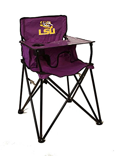 Rivalry Distributing RIV-RV251-1700 LSU Tigers NCAA Ultimate Travel Child High Chair by Rivalry Distributing