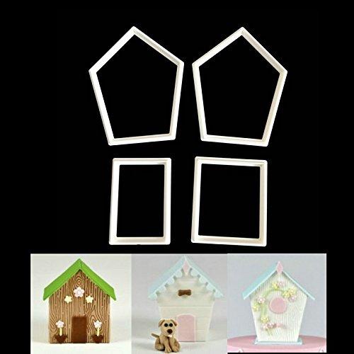 1 Set 4pcs/set Birdcage Letter Box Kennel House