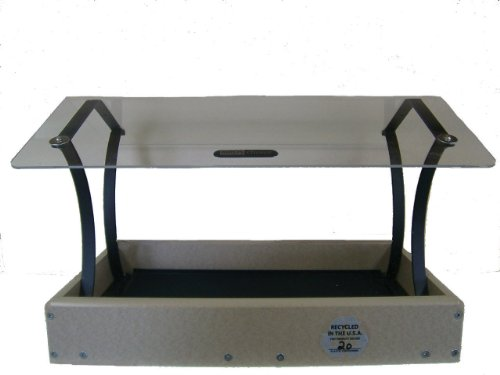 Birds Choice 16X12 Fly-Through Platform with Clear Top ()