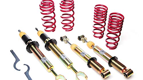 Vogtland 968149 Height Adj. Coilover Kit Spring Lowering Fits: Fiat 500 Type ()