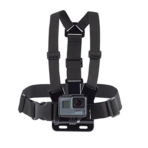 (AmazonBasics Chest Mount Harness for GoPro Camera - Black )