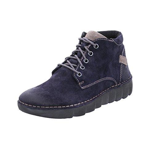 Josef Seibel - botas estilo motero Mujer azul (ocean)