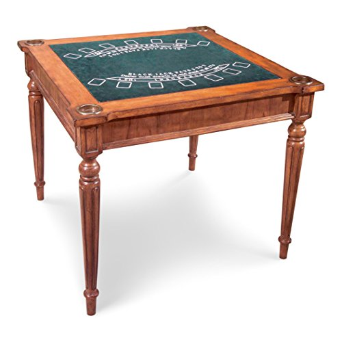 (Butler Specialty Company Multi-Game Card Table, Antique)