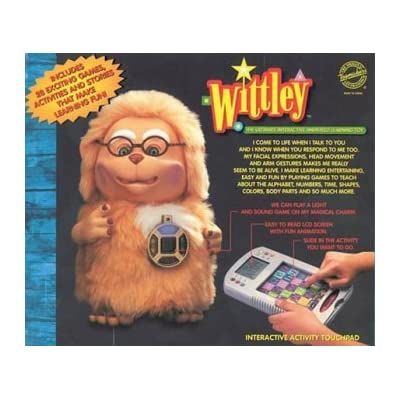 "Wittley"" the Ultimate Interactive Animated Learning Toy: Toys & Games,"