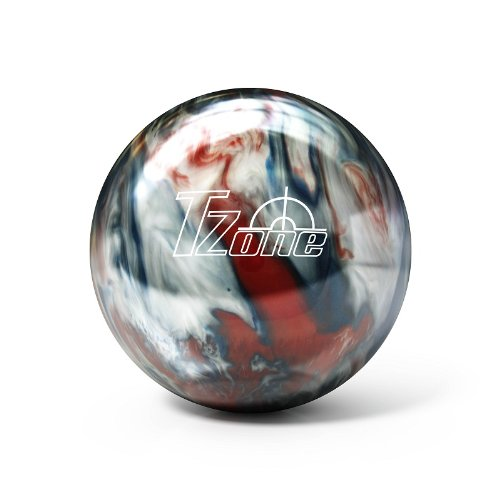Brunswick TZone Patriot Blaze Bowling Ball (15-Pounds)