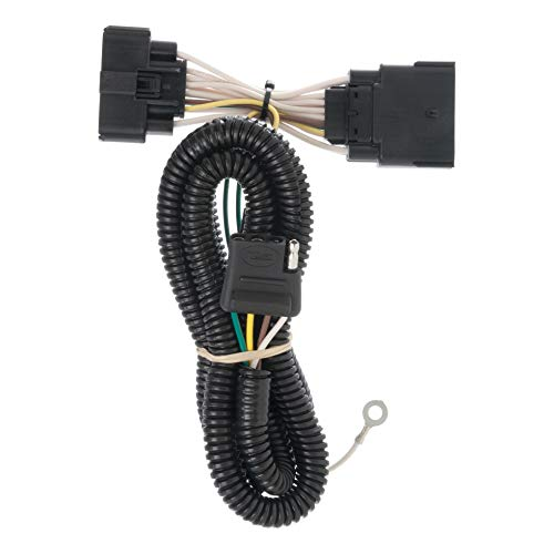 CURT 56172 Vehicle-Side Custom 4-Pin Trailer Wiring Harness for Select Ford Explorer ()