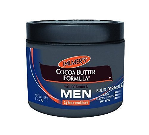 Cocoa Butter Formula Jar (Palmer's Cocoa Butter Solid Formula Skin Care Product for Men, 4.4 Ounce Jar - Pack of)