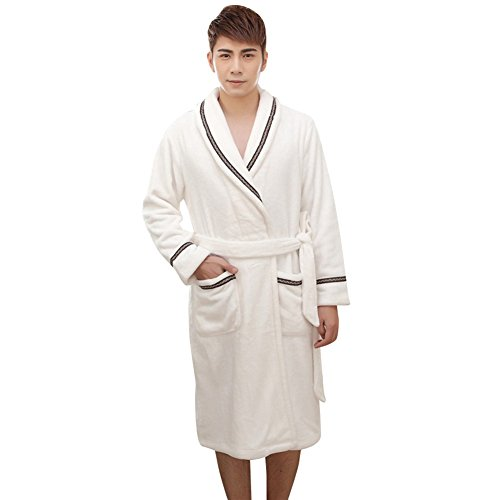 Depaud Cool Fuzzy Warm Long Loungewear Pajamas Bath Robes...