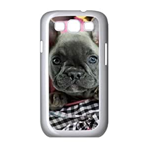 Zachcolo French Bulldog Puppy Cases for Samsung Galaxy S3 Protective, Case for Samsung Galaxy S3 Mini I8190 Protector for Girls with White