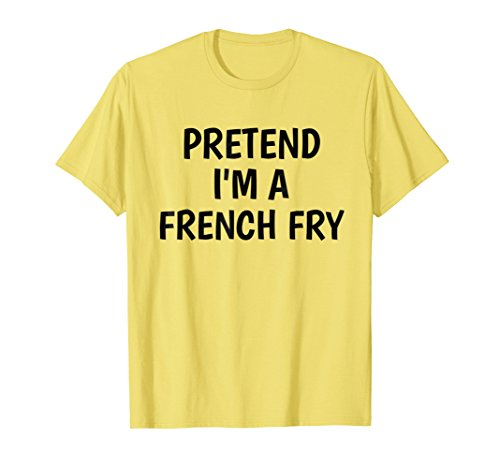 Lazy Halloween Costume Tshirt Pretend Im A French