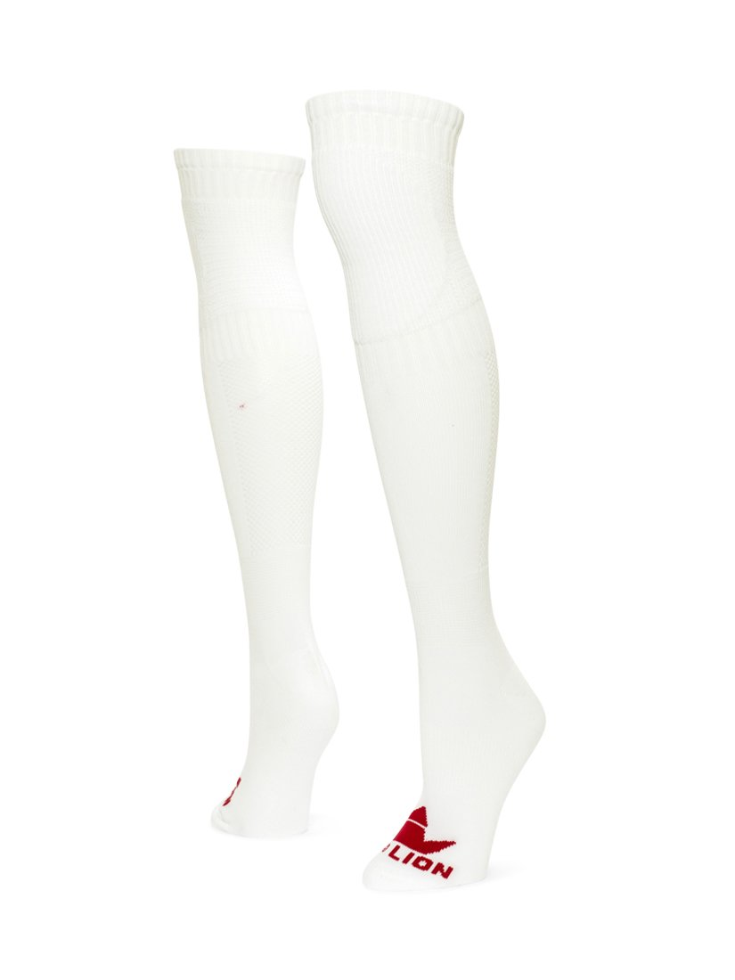 レッドライオンGoalie over the knee socks B00L5MHMBM Medium|ホワイト ホワイト Medium
