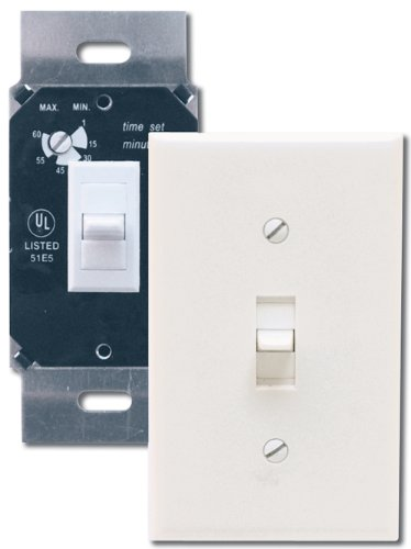 Air King AKDT60 Delay Timer Switch, White