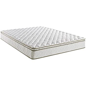 Classic Brands Pillow-Top Innerspring 10-Inch Mattress, Queen
