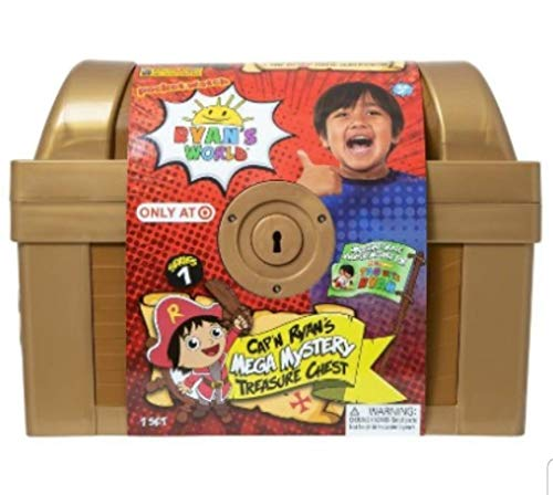 (Ryans World Exclusive Gold Mega Mystery Surprise Treasure)