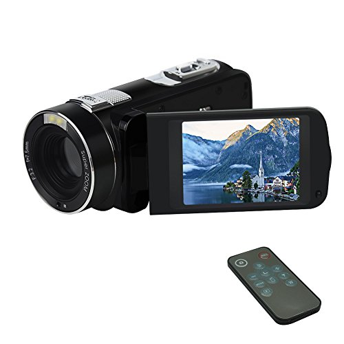 Digital Camcorder Camera Video Recorder Fhd 1080p 24mp Beauty Face Camera Hdmi Output With Remote Co