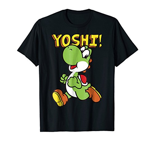 Nintendo Super Mario Yoshi Intro Jump Graphic T-Shirt]()