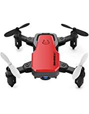 $39 » SIMREX X300C Mini Drone RC Quadcopter Foldable Altitude Hold Headless RTF 360 Degree FPV Video WiFi 720P HD Camera 6-Axis Gyro 4CH 2.4Ghz Remote Control Super Easy Fly for Training