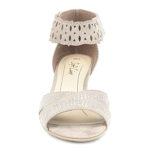 Pavers Sandal with Ankle Strap 309 116 Natural 7QiuAiW