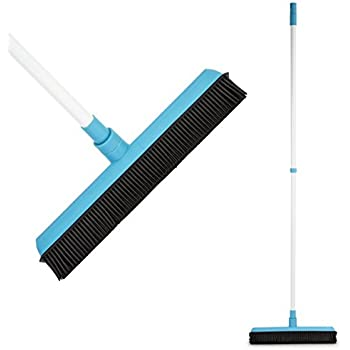 Amazon Com Rubber Broom Soft Natural Rubber Bristles