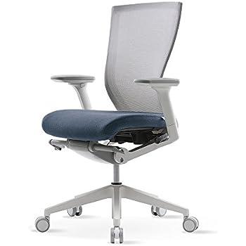 SIDIZ T50 Home & Office Multifunction Ergonomic Swivel Task Chair (TNB500DA): High Back, Mesh Back, 3-Way Adjustable Arms, Adjustable Seat Slide/Slope (Blue)