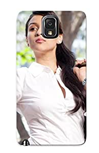 Durable Defender Case For Galaxy Note 3 Tpu Cover(barbie Handa Bollywood Celebrity Actress Model Girl Beautifulsmile )