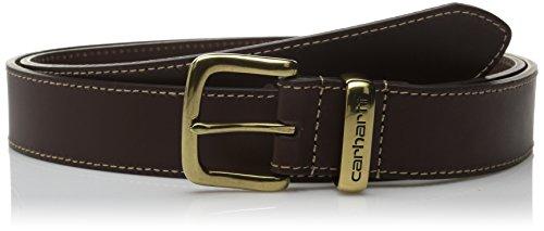Carhartt Men's Regular Signature Casual Belt, Jean Brown 38