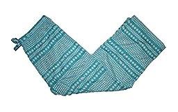 Vineyard Vines Girls Dots Allota Whale Lazy Lounge Pants, Curacao Blue/White (4T/5)