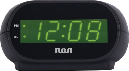 RCA RCD30 Alarm Clock with LED display