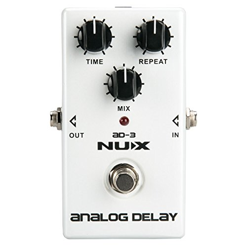 NUX AD-3 Analog Delay Guitar Pedal Low Noise BBD in Delay Circuit Warm Natural Delay Effect by NUX