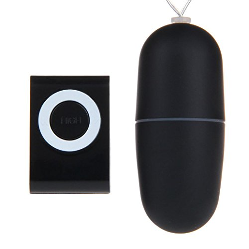 Aritone Fashion Sex Products Waterproof Wireless remote control Shacking Shock Massager Egg Vibrator Adult Sex Toy (Black)