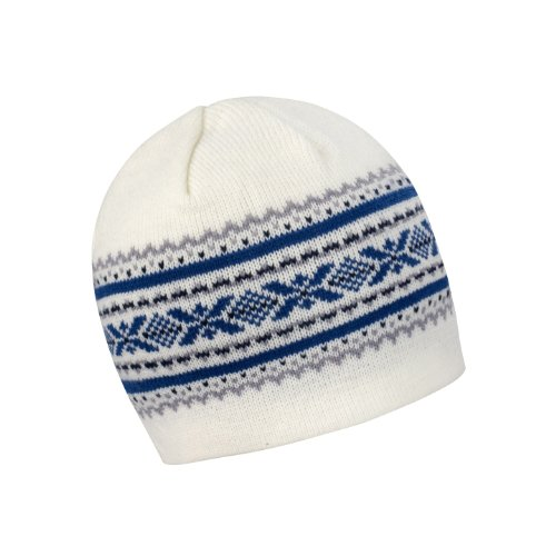 Result Aspen Knitted Double Knit Winter Hat (One Size) (White/Grey/China Blue/Nav) by Result Headwear
