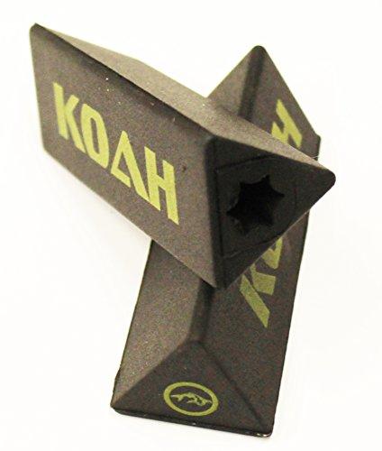 KOAH Custom Soft Tip Protectors Black Spearfishing, Free Diving & Snorkeling Speargun Upgrades Accessories Scuba ()