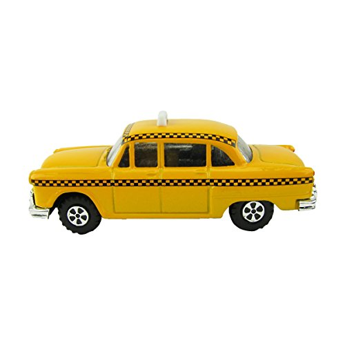 1:48 O Scale Miniature Checker Taxi Cab Model Train Accessory Pencil Sharpener