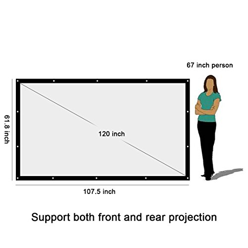 The 8 best projection screen for daylight