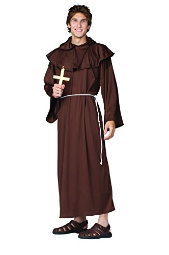 40's Themed Costumes (Men Monk Costume (Up to 40) - Great for clergy or renaissance!)