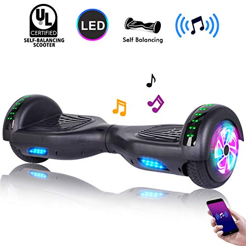 CBD 6.5' Hoverboard w/Bluetooth Speaker, Self Balancing Hoverboard for Kids with LED Lights, UL 2272...