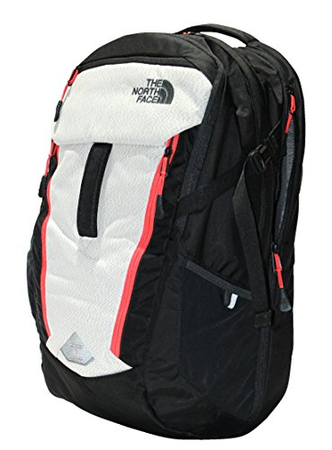 THE NORTH FACE SURGE BACKPACK TNF BLACK / FIERY RED