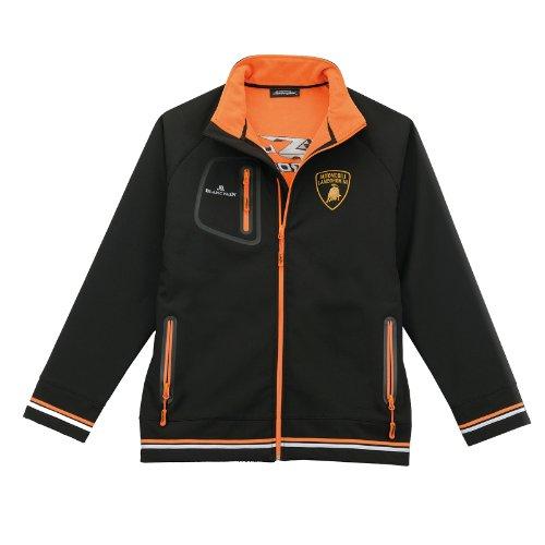 Lamborghini Men's Super Trofeo 2.0 Softshell Jacket, Black, X-Large