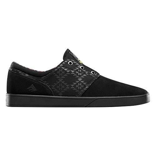 Emerica - Zapatillas para hombre negro black/black/print US, color negro, talla 47 EU black/black/print