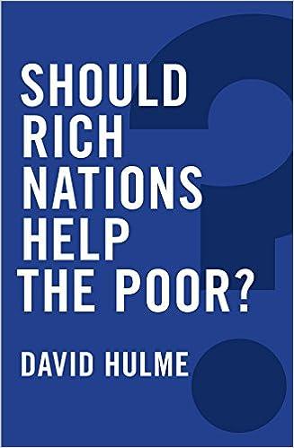 should richer nations help poor